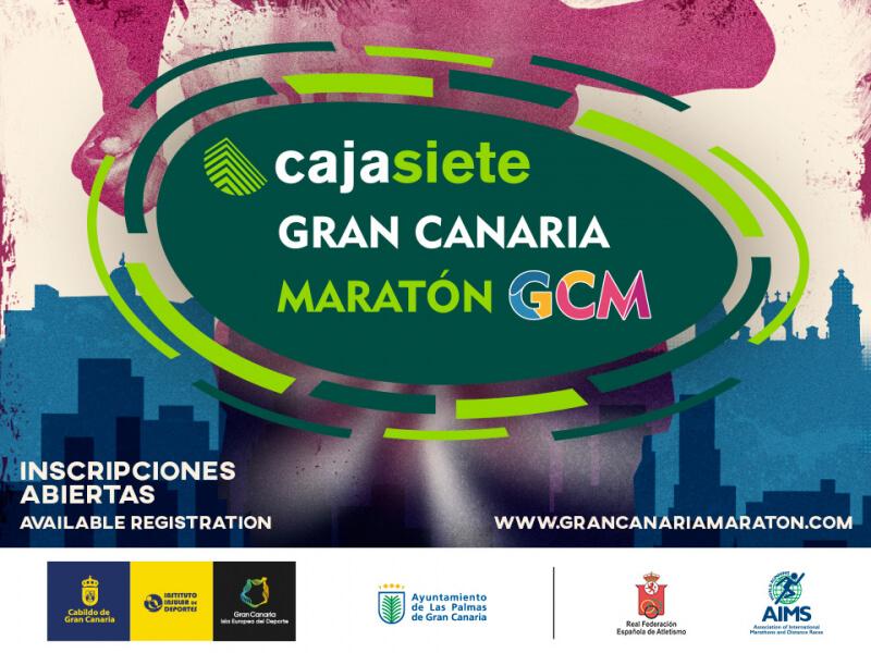 gran canaria maraton cartel
