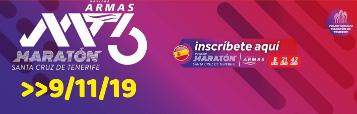 maratón de tenerife 2019 cartel