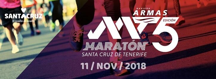 maraton tenerife cartel 2018