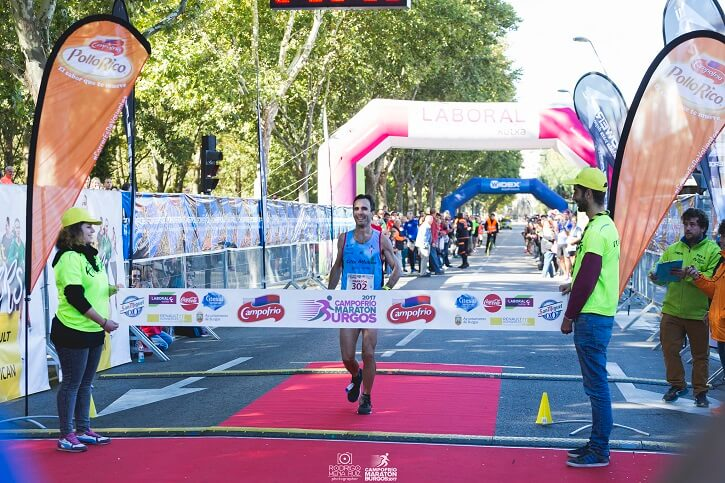 maraton burgos ganador 2017
