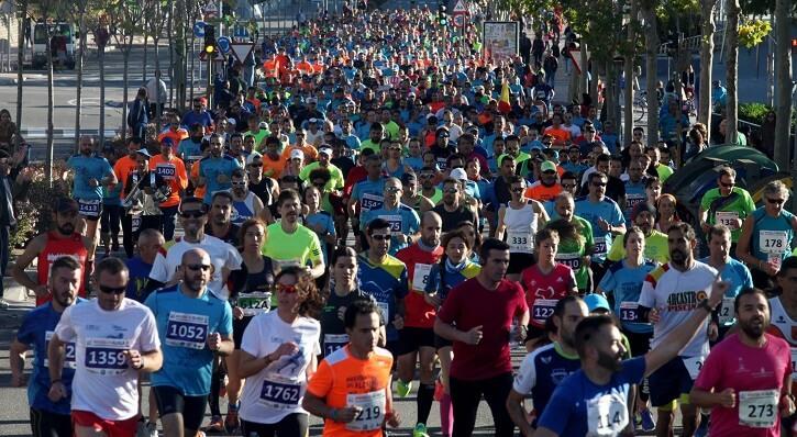corredores maraton alcala
