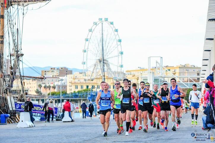 corredores maraton malaga