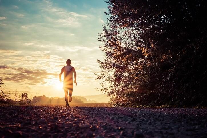 running tarde noche