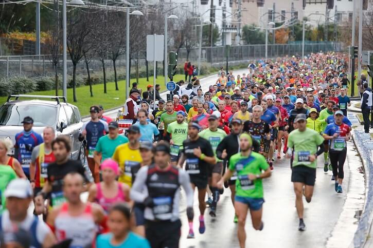 maraton san sebastian corredores
