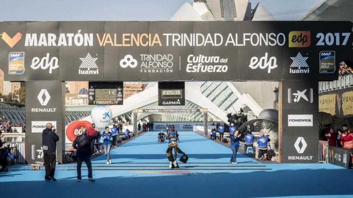meta maraton valencia