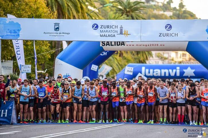 salida maraton malaga