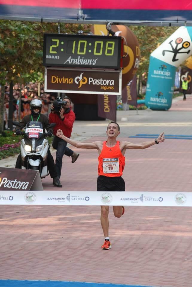 carles castillejo maraton castellon