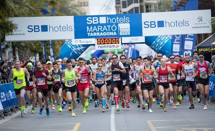 salida maraton tarragona
