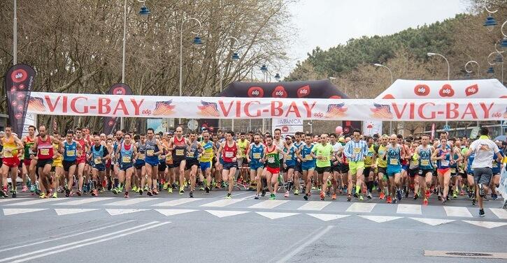 salida maraton vig bay