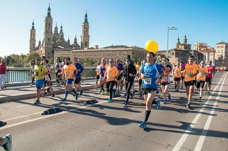 el pilar zaragoza maraton