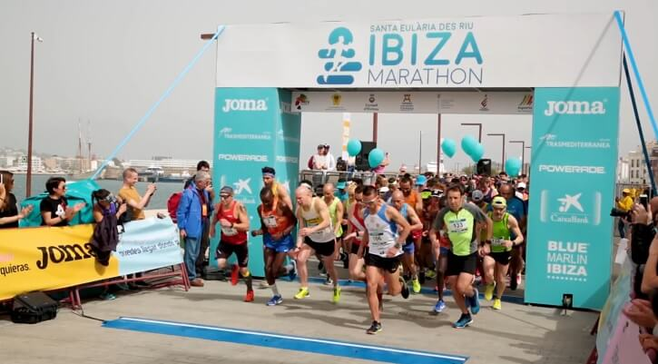 salida ibiza maraton puerto