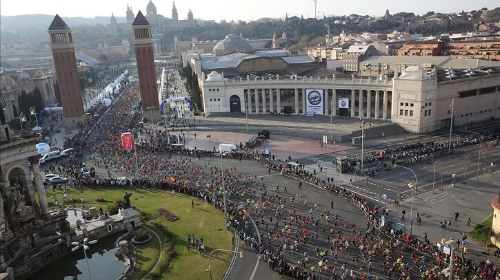 salida maraton barcelona