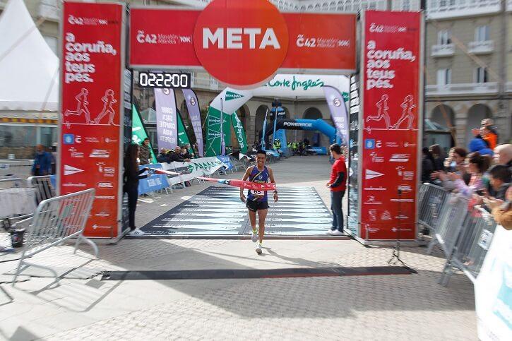 ganador maratón coruña