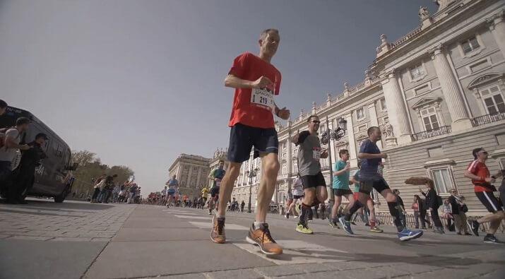 corredor maratón de madrid