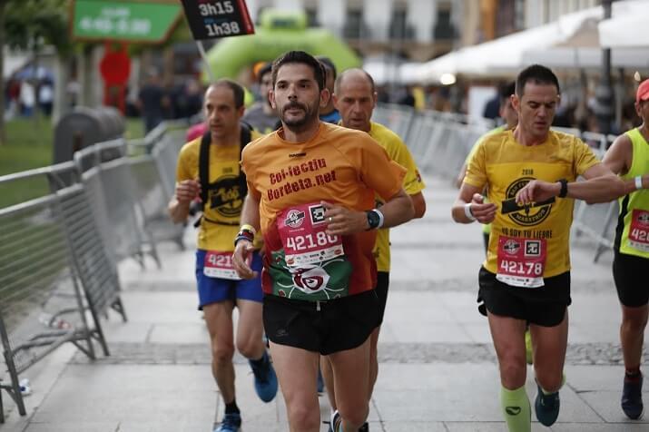 corredores edp san fermin marathon