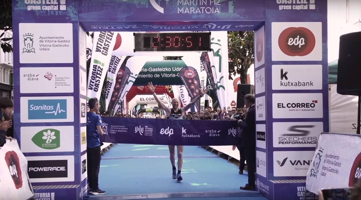 ganador maratón vitoria-gasteiz