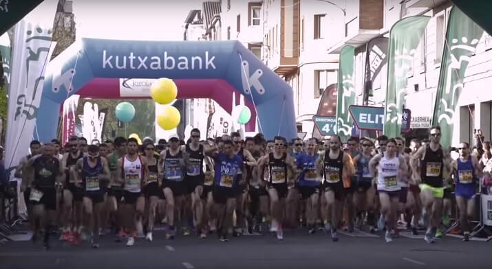 salida maraton vitoria-gasteiz