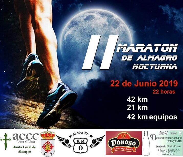 cartel maratón de Almagro 2019
