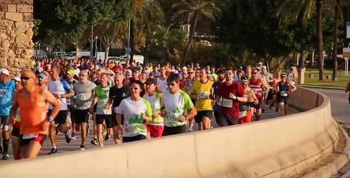 corredor palma mallorca maratón