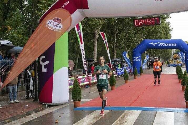 ganador maratón de Burgos Ruben Juaniz Oroquieta