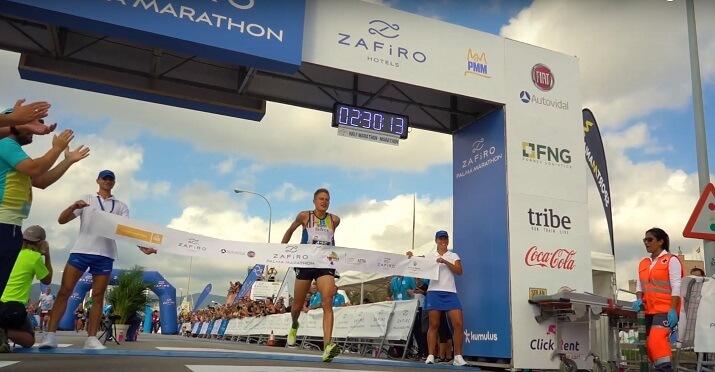 ganador palma marathon