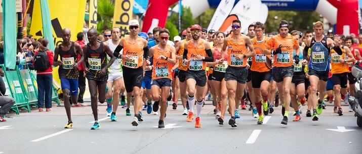 salida maratón de logroño
