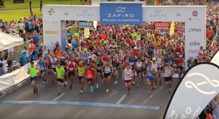 salida maratón zafiro palma
