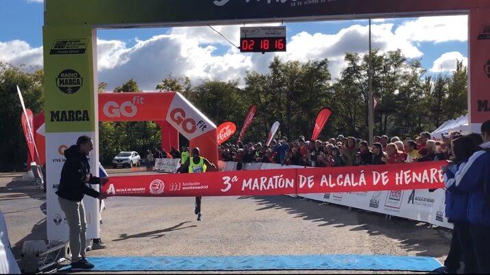 Ganador del Maratón de Alcalá