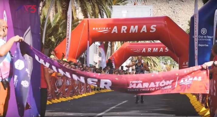 ganador del maratón de tenerife