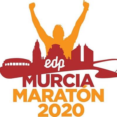 cartel maratón Murcia 2020