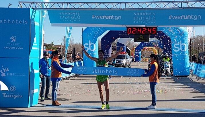 Ganador maratón de Tarragona