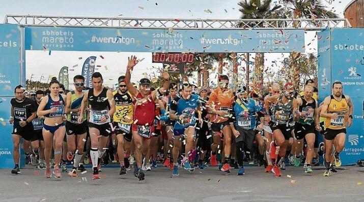 salida del maratón de tarragona