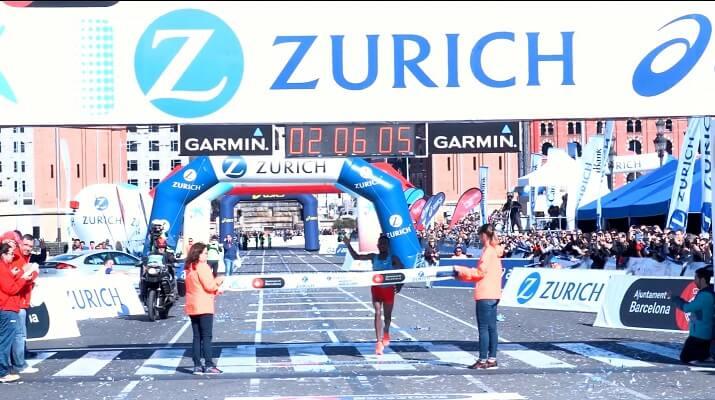 ganador del maratón de Barcelona