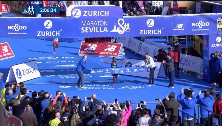 ganador del maratón de sevilla 2019