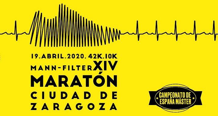 cartel maratón zaragoza 2020