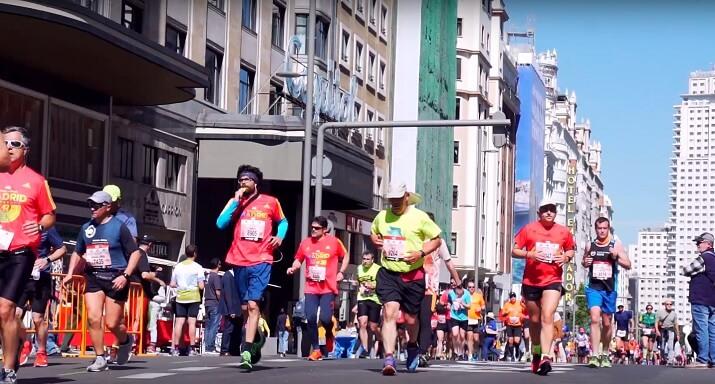 corredores maraton madrid
