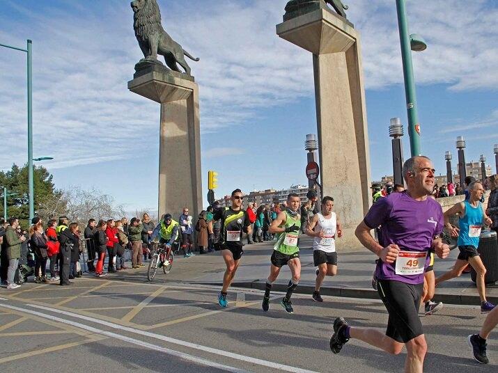 corredores maraton zaragoza