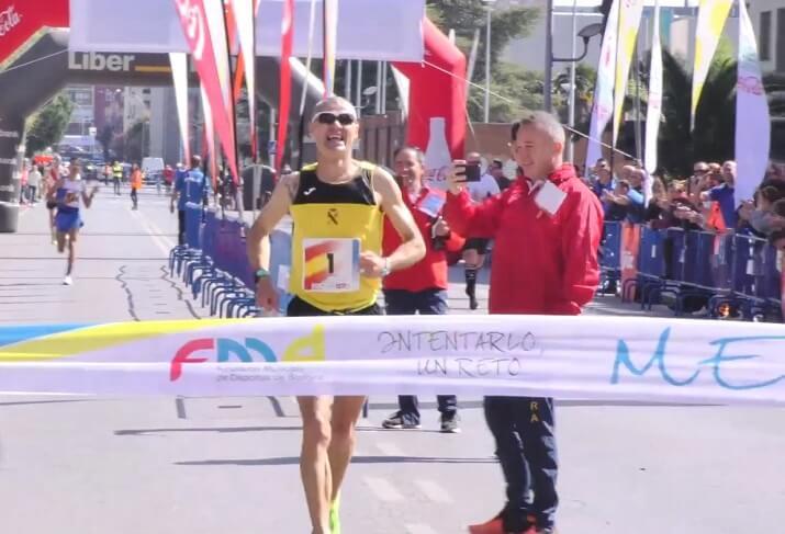 ganador del maratón de Badajoz