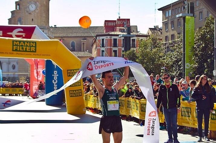 ganador maratón zaragoza