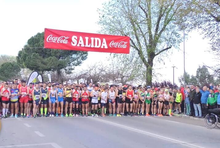 salida maratón de Badajoz