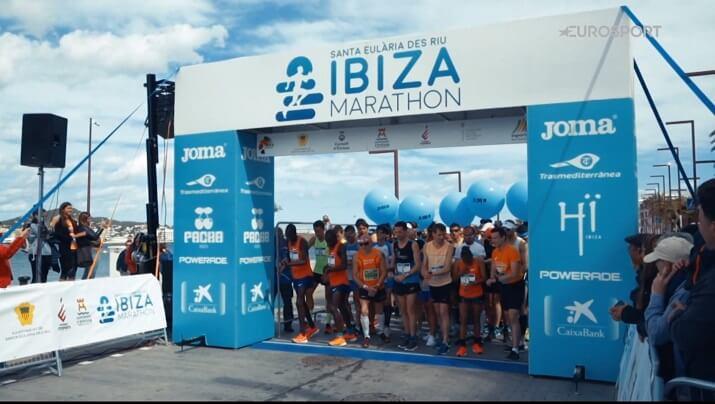 salida ibiza maraton