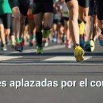 maratones aplazadas debido al coronavirus