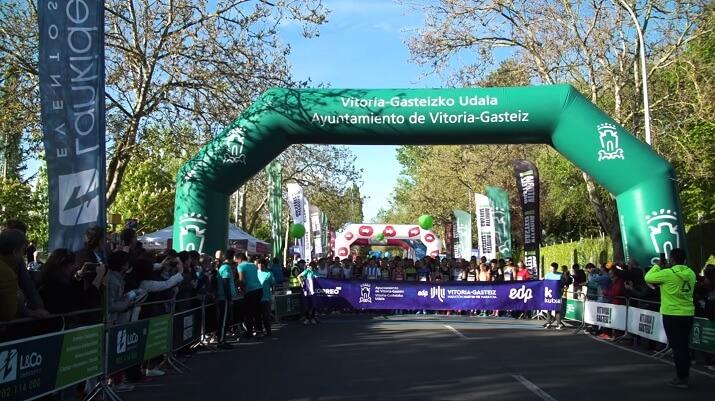 salida maraton Vitoria Martin Fiz