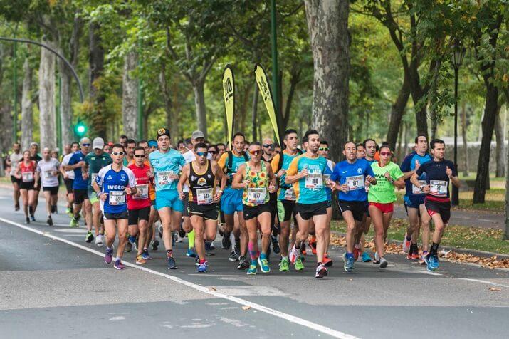 corredores maraton burgos