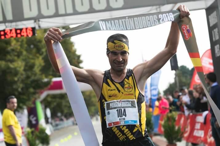 ganador del maratón de Burgos