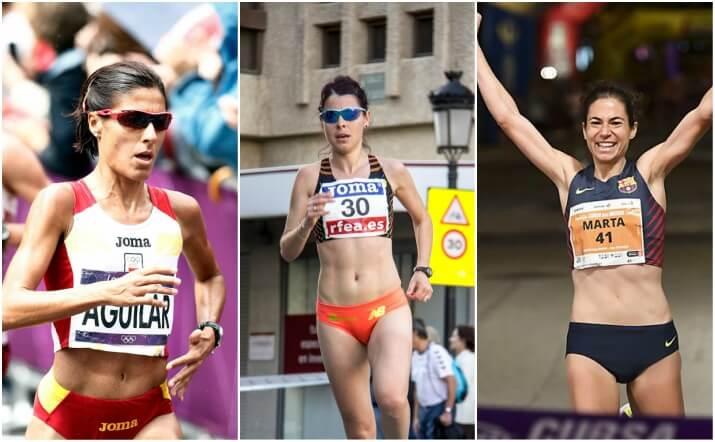 mejores maratonianas femenino de España