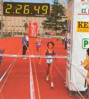 Ana Isabel Alonso récord femenino de España de maratón