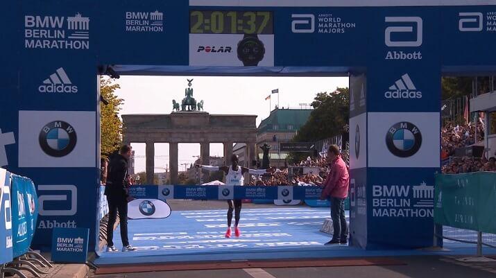 Eliud Kipchoge récord del mundo de maratón