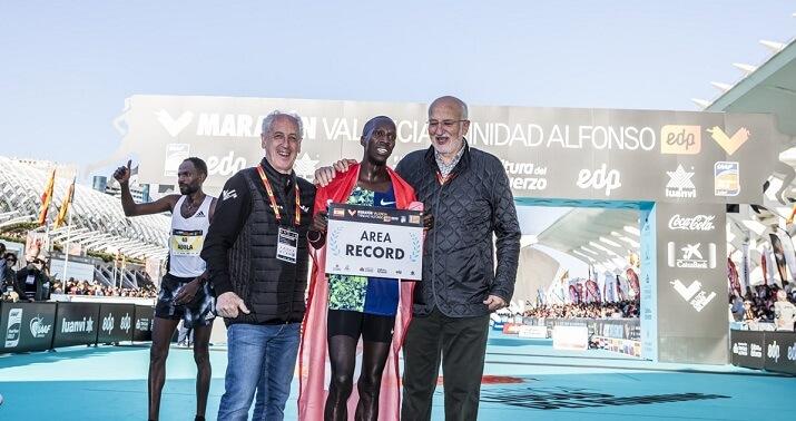 Ozbilen récord de europa de Maratón