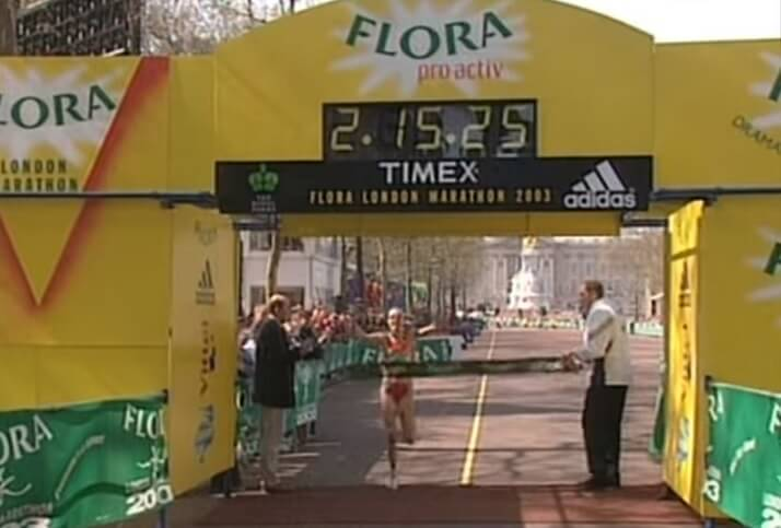Paula Radcliffe maratón femenino record